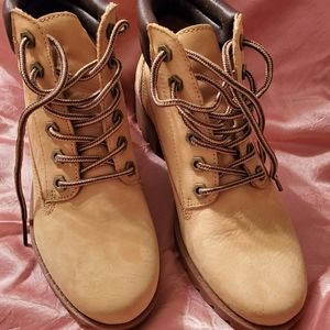 Aldo Tan Dress Work Boot